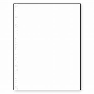 85 x 11 20lb perforated paper 1 2 from left kelly paper With perforated letter paper