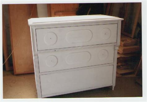 commode 3 tiroirs en medium belle ebene