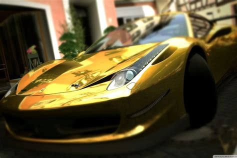 golden ferrari wallpaper gold ferrari 458 italia wallpaper allwallpaper in 8211