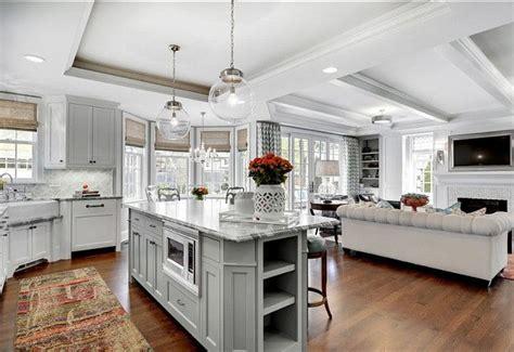 inspiring kitchens living room kitchen kitchen family