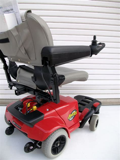jazzy select power chair used used jazzy select traveller portable power wheelchair