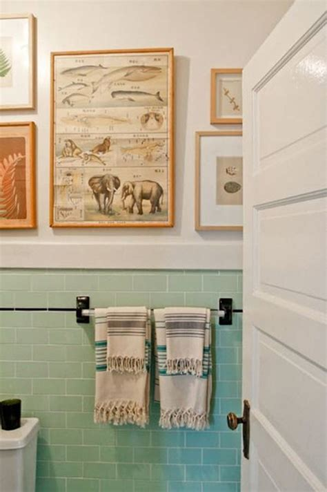 stylish mint green bathroom ideas
