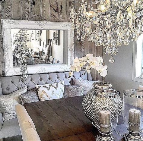 Rustic Glam Decor  My Home  Pinterest  Room, Living