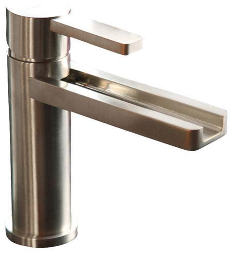 Waterfall Ultra Modern Bathroom Faucet  Modern Bathroom