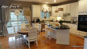 kitchen redo with white painted cabinets and tile With kitchen colors with white cabinets with hand painted wall art canvas