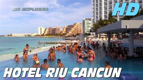 Www Riu Com Cancun Hotel Riu Cancun Cancun Mexico Youtube