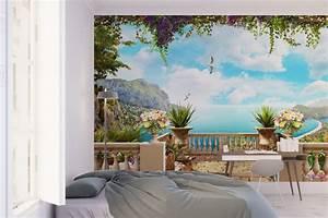 Trompe L'Oeil Wallpaper - Moonwallstickers com