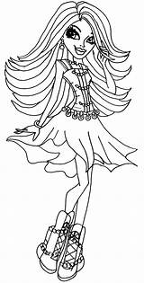 Coloring Pages Monster Spectra Flamenco Hair Dancer Vondergeist Printable Colouring Cool Cleo Sheets Nile Para Hold Colorear Print Crafts Getcolorings sketch template