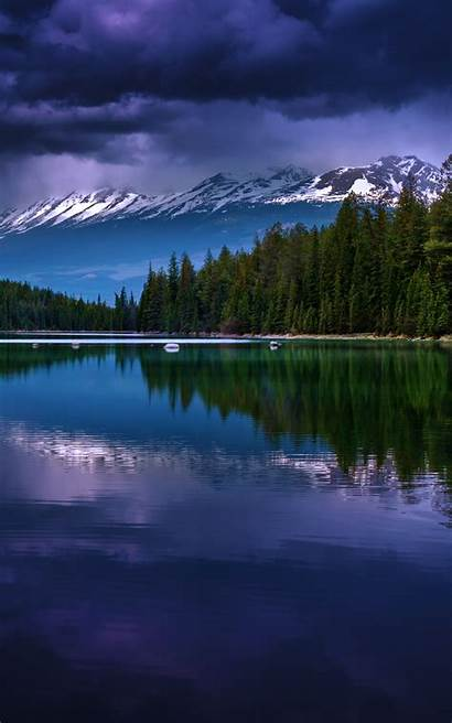 Iphone Wallpapers Portrait Nature Lake Orientation Lakes