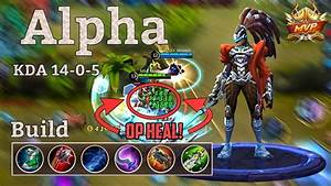 Mobile Legends Alpha Best Build For Damage One Skill