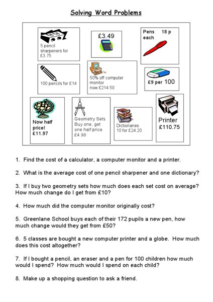 All Worksheets » Spending Money Worksheets  Printable Worksheets Guide For Children And Parents