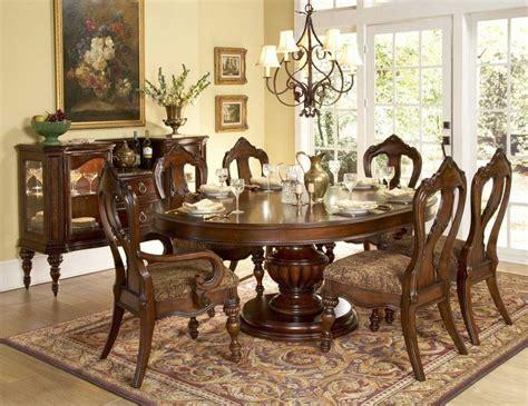 mesa circular   comedor clasico imagenes  fotos
