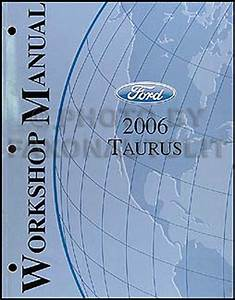 2006 2007 Ford Taurus Repair Shop Manual Original Workshop