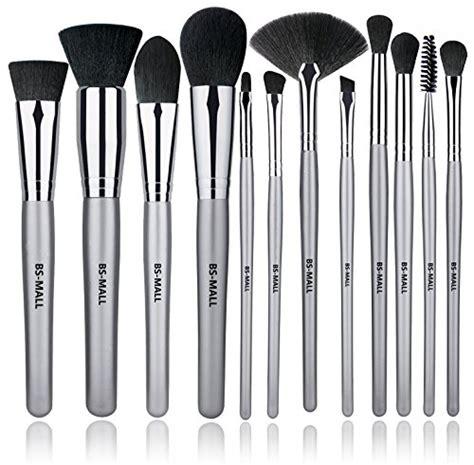 bs mall  pcs makeup brush set premium synthetic silver