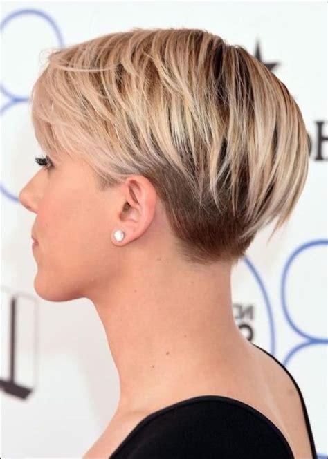 Kurzhaarfrisuren 2017 Braun Undercut  Haarschnitte und