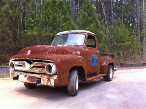 purchase new 55 ford f100 truck with patina original rolling chassis in