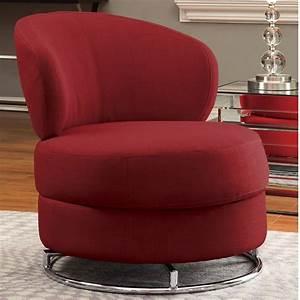 Round, Swivel, Accent, Chair