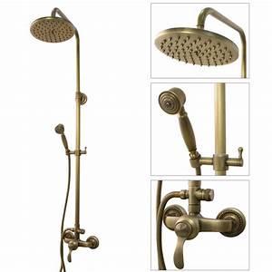 Armatur Mit Brause : retro duschstangenset duschset kompleft mit brause ~ Watch28wear.com Haus und Dekorationen