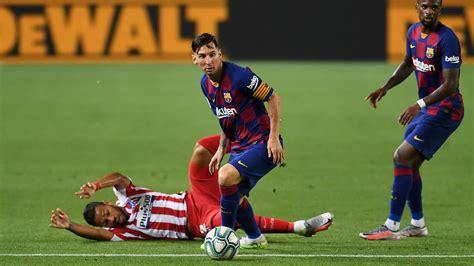 Barcelona v Atlético Madrid Match Report 30/06/2020 ...