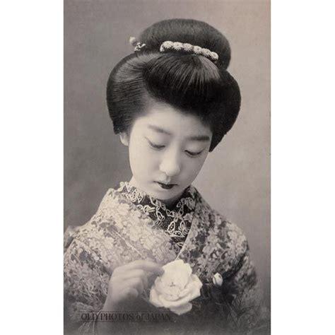 woman  rose  young woman  kimono