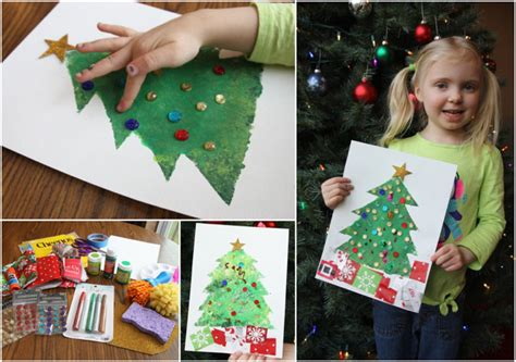 einfache ideen fuer das weihnachtliche basteln mit  jaehrigen kindern
