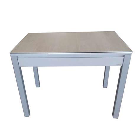 table cuisine avec tiroir table de cuisine extensible en céramique avec