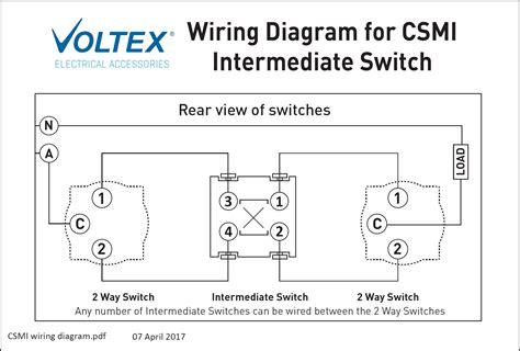 intermediate switch mechanism switch mechanisms