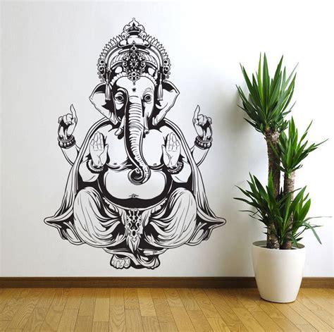 ganesh elephant god om buddha mandala ganapati living