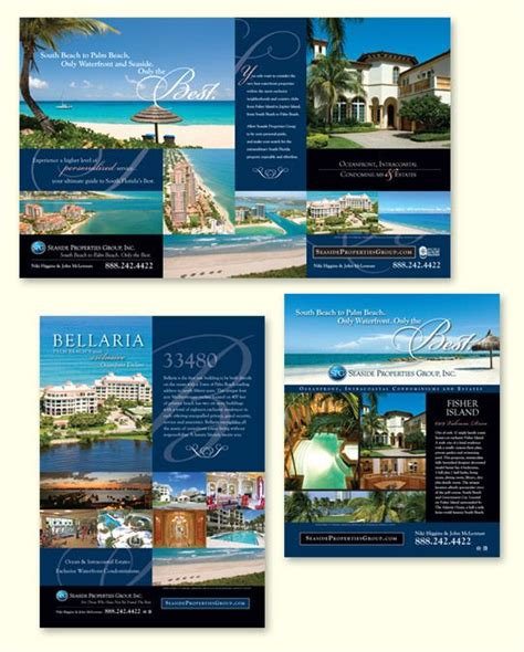 national print advertising  luxury real estate real