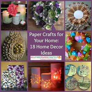 Paper Crafts for Your Home18 Home Decor Ideas
