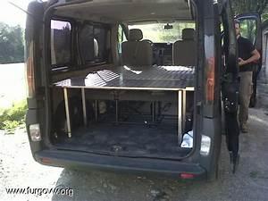 Opel Vivaro Camper : cama para opel vivaro aluminio y inox camper idees furgoneta muebles cama y furgo ~ Blog.minnesotawildstore.com Haus und Dekorationen