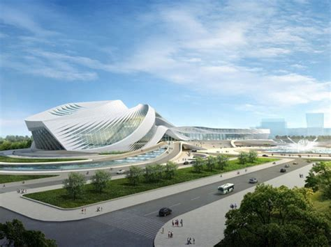 New Century City Art Centre In Sichuan Province