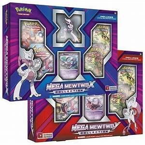 Pokemon Mega Mewtwo X and Mega Mewtwo Y Collection Trading ...