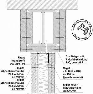 Rigips Trennwand Kosten : trockenbauwand trifft stahlbauteil ~ Sanjose-hotels-ca.com Haus und Dekorationen