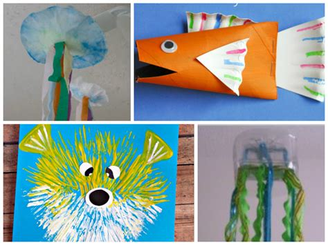 Adorable Sea Animal Crafts For Kids
