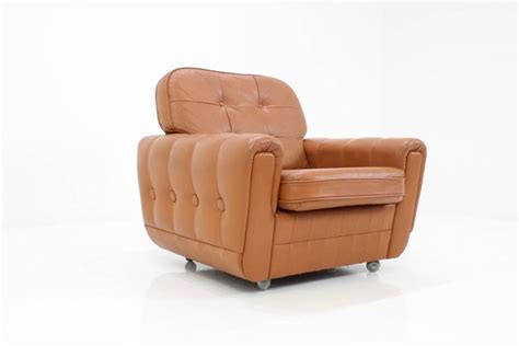 Brown Leather Armchair For Sale At 1stdibs
