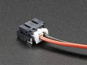 Jst-ph 2-pin Smt Right Angle Connector Id  1769