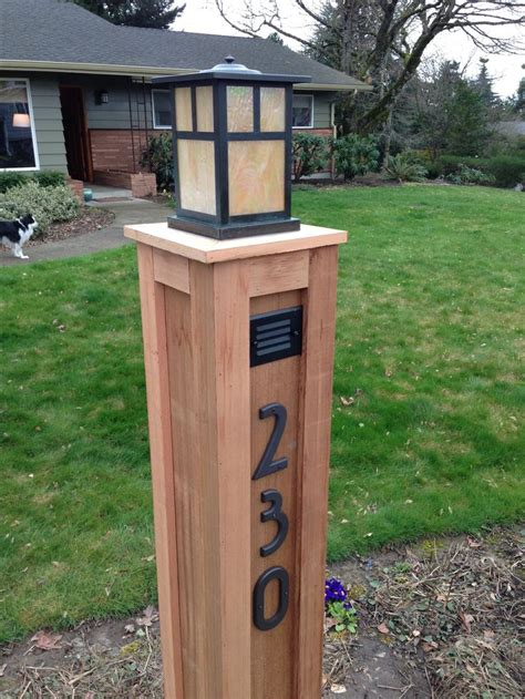 Outdoor Wooden Lamp Posts 1000 Ideas About Light Posts On