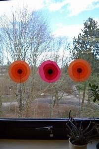 Fensterdeko Zum Hängen : blumen an die fenster fadenspiel und fingerwerk ~ Watch28wear.com Haus und Dekorationen