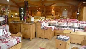 meubles les autanes deco montagne fabrique banquette With meubles de montagne en bois