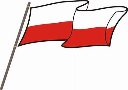 Flag Polish Poland Transparent Clipart Flaga Polski