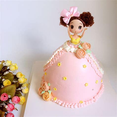 芭比公主蛋糕图片图片