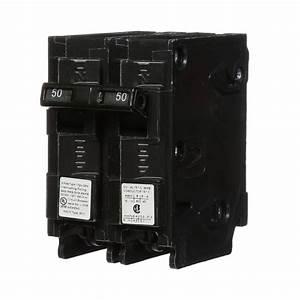 Siemens 50 Amp Double