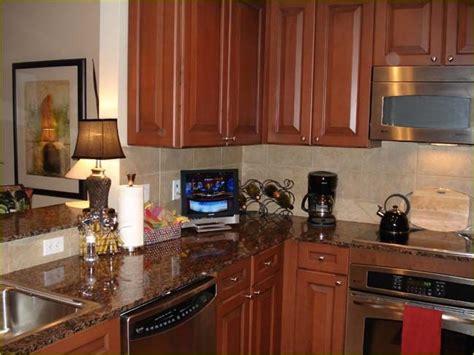 small flat screen tv  kitchen  latest small kitchen design gallery tv  kitchen