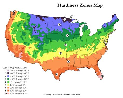 gardening zones landscape gardening4u plant hardiness zone map