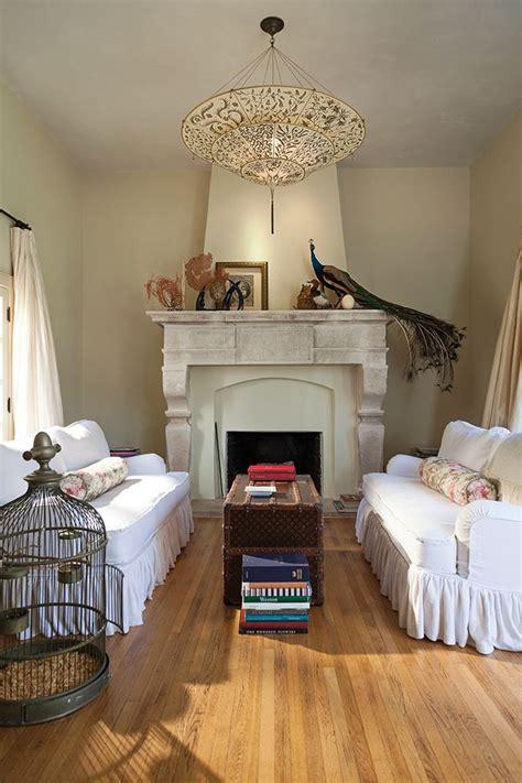 Comfort Loving Living Rooms by Living Room With Fireplace Palos Verdes Home Of