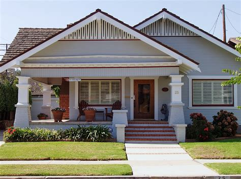 Bungalows : Front Porch Designs For Different Sensation Of Your Old