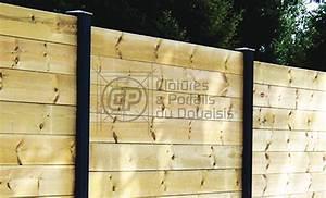 Planche Bois Autoclave : cl ture planche bois elegance cloture du douaisis ~ Premium-room.com Idées de Décoration