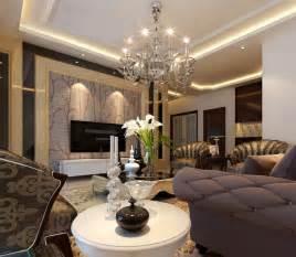 Elegant Living Room Wall Design
