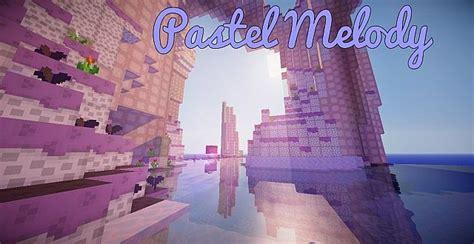 pastel melody texture pack  minecraft  minecraftdls